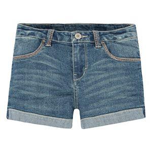 Girls 4-6x Levi's Thick Stitch Shortie Denim Shorts