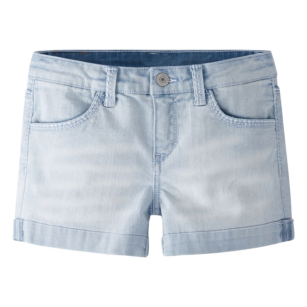 Girls 4-6x Levi's Thick Stitch Shortie Denim Shorts