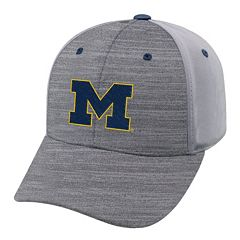 Adult Michigan Wolverines Steam Performance Adjustable Cap