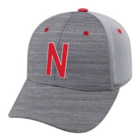 Adult Nebraska Cornhuskers Steam Performance Adjustable Cap
