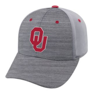 Adult Oklahoma Sooners Steam Performance Adjustable Cap
