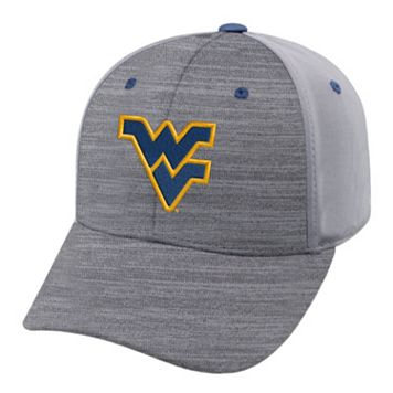 Adult West Virginia Mountaineers Steam Performance Adjustable Cap