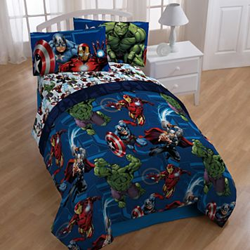 Marvel Avengers Heroic Age 4-piece Twin Bedding Set