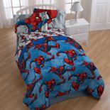 Marvel Spider-Man City Graphic 4-piece Twin Bedding Set