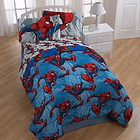 Marvel Spider-Man City Graphic 4-piece Twin Bed In A Bag Set
