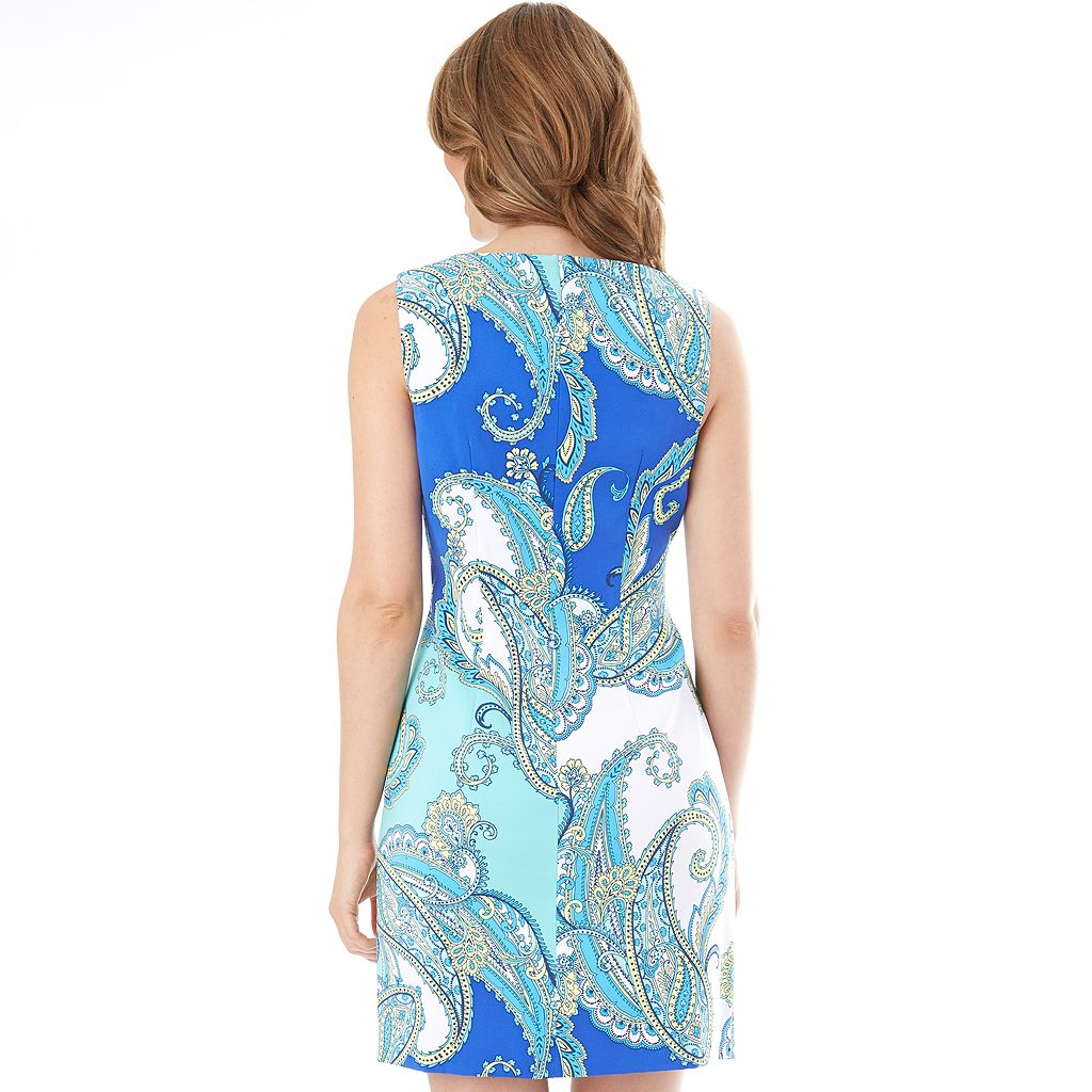Women's AB Studio Printed Sheath Dress