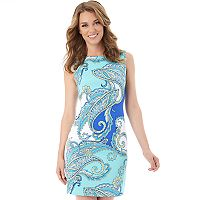 Women's AB Studio Printed Sheath Dress