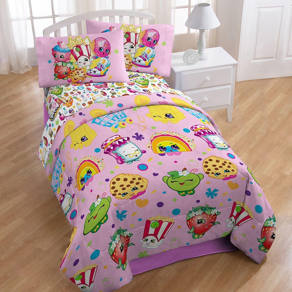 Moose Toys Shopkins Party 4-piece Twin Bedding Set