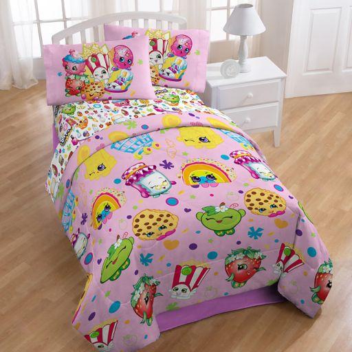 Shopkins Party 4-piece Twin Bedding Set