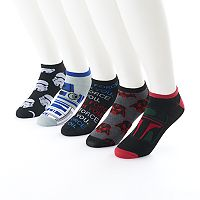 Men's Star Wars 5-Pack No-Show Socks