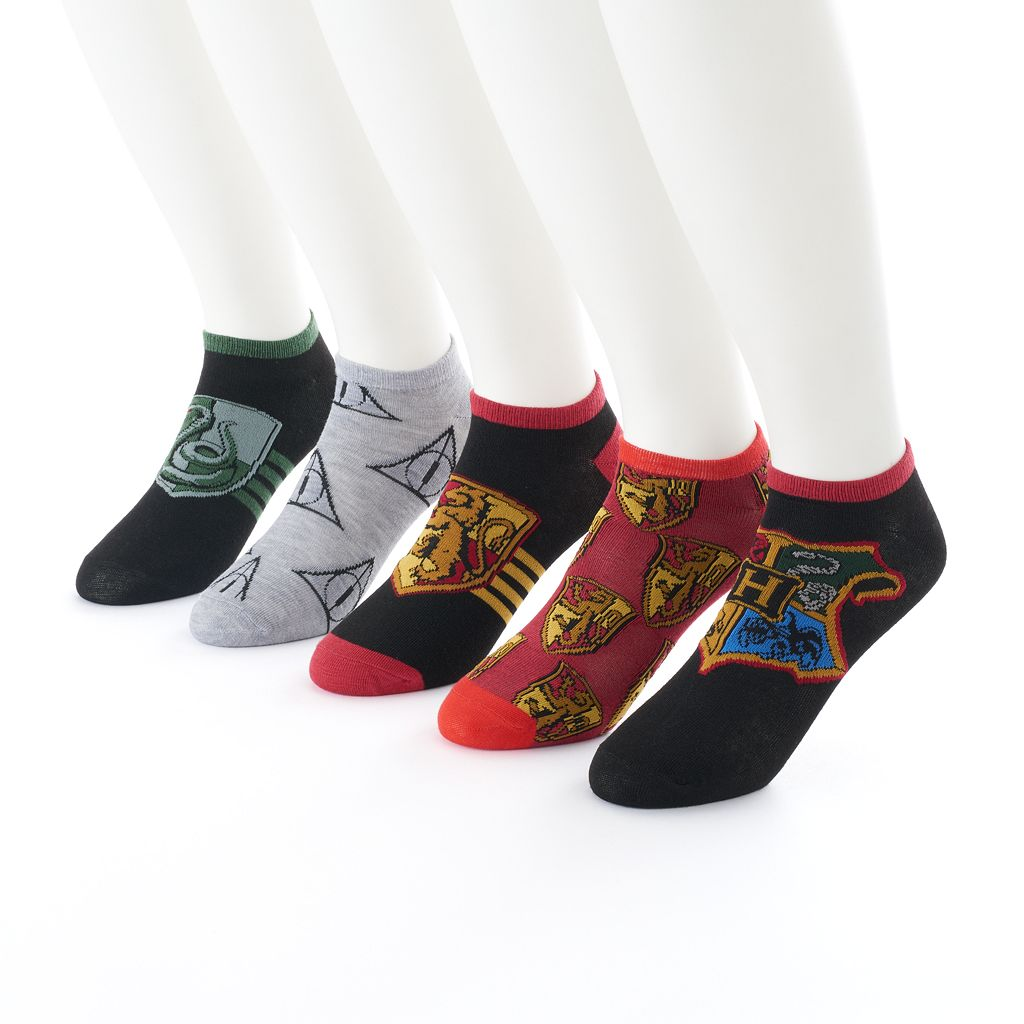Men's Harry Potter 5-Pack No-Show Socks