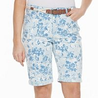 Women's Gloria Vanderbilt Joslyn Roll-Up Bermuda Shorts