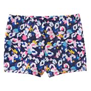 Girls 4-14 Jacques Moret Cool Spots Metallic Shorts