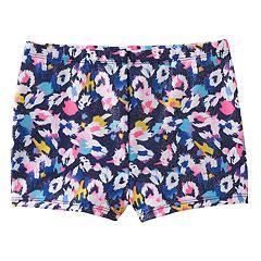 Girls 4-14 Jacques Moret Cool Spots Metallic Shorts