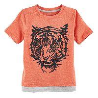 Boys 4-7x SONOMA Goods for Life™ Textured Layered Hem Graphic Tee