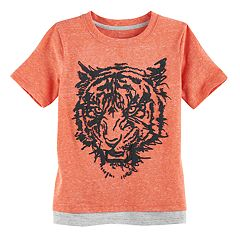 Boys 4-7x SONOMA Goods for Life™ Textured Layered Hem Graphic Tee