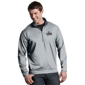 Men's Antigua Los Angeles Clippers Leader Pullover