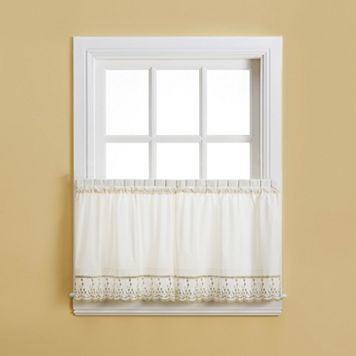 Abby Floral Kitchen Tier Curtain