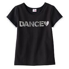 Girls 4-14 Jacques Moret 'Dance' Tee