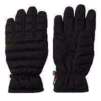 Men's Heat Last Heat Quilted Down Packable Gloves