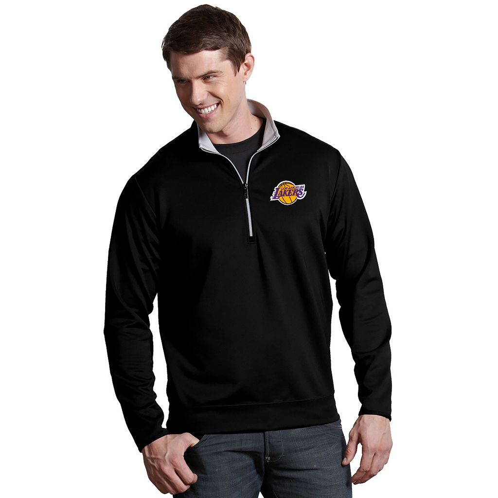 Men's Antigua Los Angeles Lakers Leader Pullover