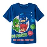 "Toddler Boy PJ Masks ""We Are on the Way"" Gekko, Catboy & Owlette Graphic Tee"