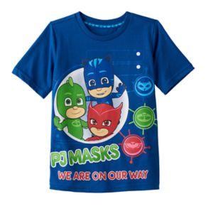"Toddler Boy PJ Masks ""We Are on the Way"" Gekko, Catboy & Owlette Graphic Tee"