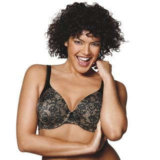 Playtex Bras: Love My Curves Incredibly Smooth Full-Figure Concealing Petals T-Shirt Bra US4848
