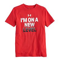 Boys 8-20 Under Armour New Level Tee