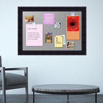 Amanti Art Wood Framed Magnetic Bulletin Board Wall Decor