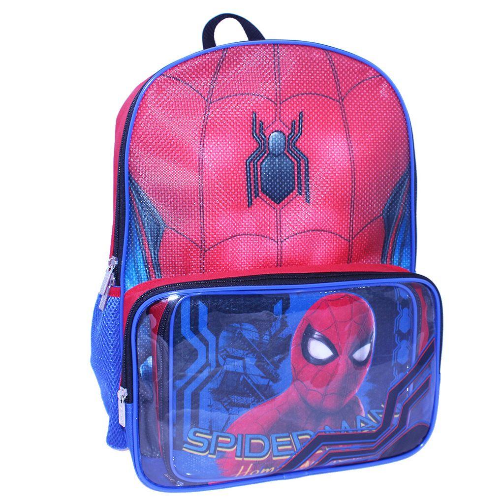 Kids Marvel Spider-Man Backpack & Lunch Bag Set