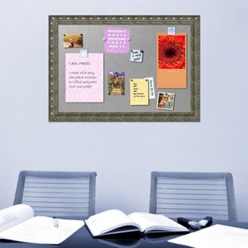 Amanti Art Embossed Magnetic Bulletin Board Wall Decor