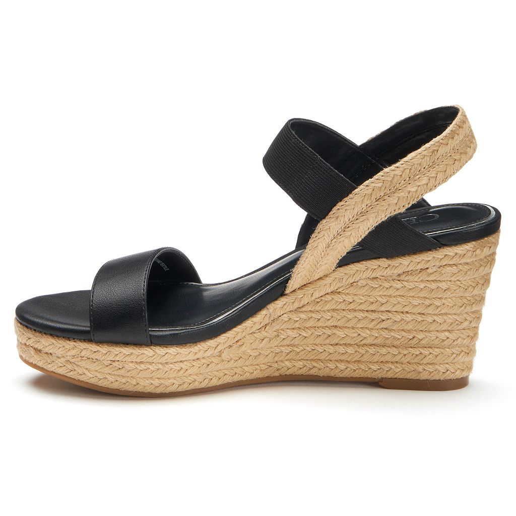 Chaps Wensley Women's Espadrille Wedge Sandals