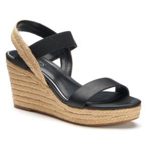 Chaps Wensley Women's Espadrille Wedge Sandals