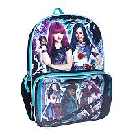 Disney's Descendants Evie, Mal & Uma Kids Backpack & Lunch Box Set