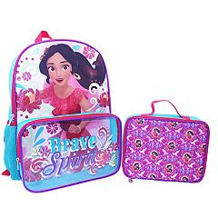 Disney's Elena of Avalor Kids 'Brave Spirit' Backpack & Lunch Bag Set