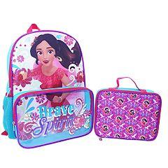 Disney's Elena of Avalor Kids 'Brave Spirit' Backpack & Lunch Bag Set