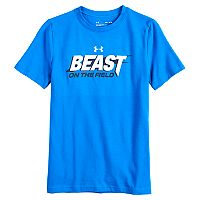 Boys 8-20 Under Armour Beast On The Field Tee