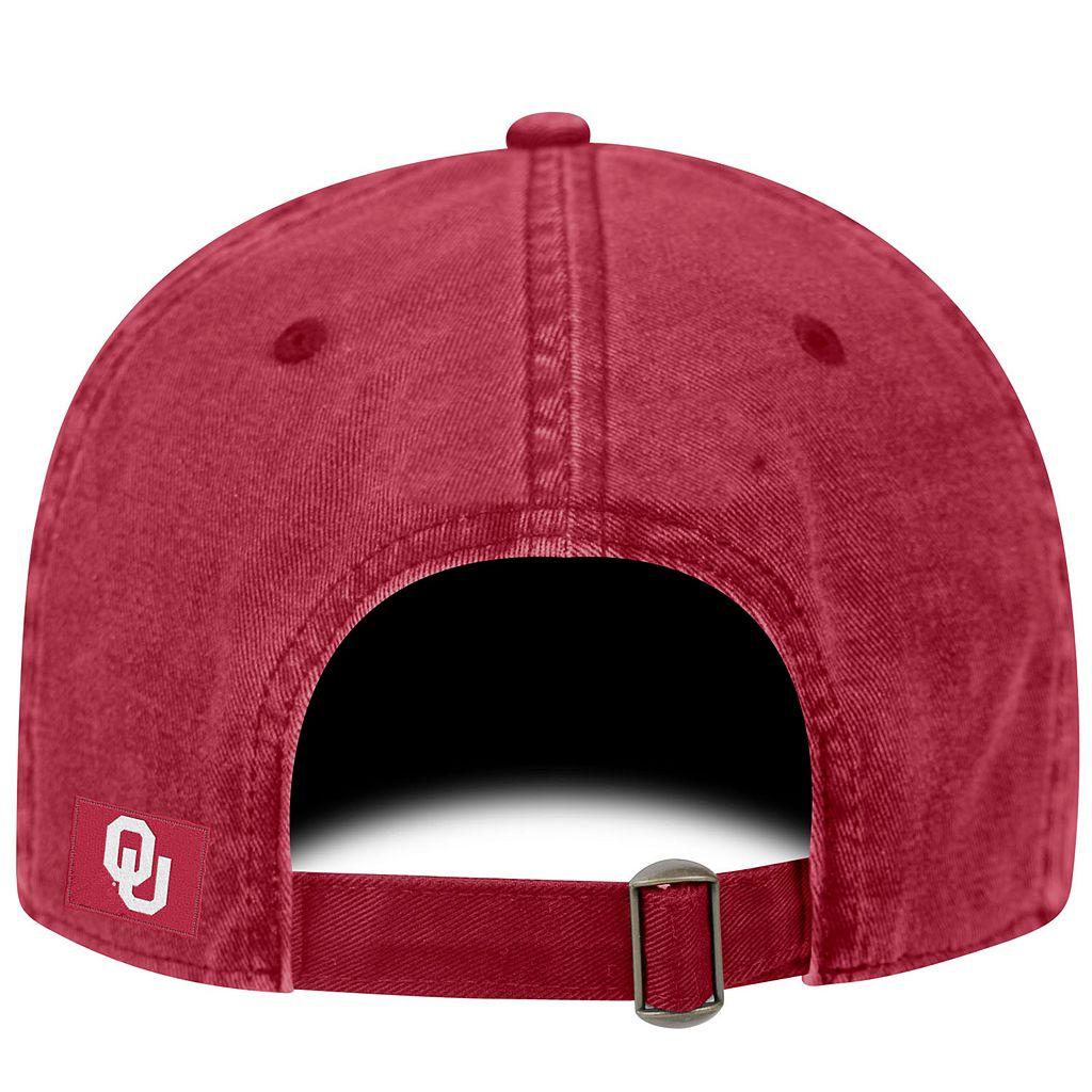 Adult Oklahoma Sooners Fun Park Vintage Adjustable Cap