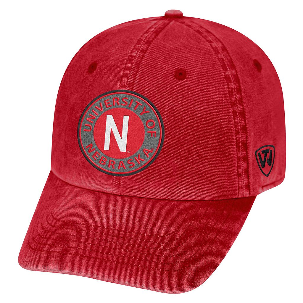 Adult Nebraska Cornhuskers Fun Park Vintage Adjustable Cap