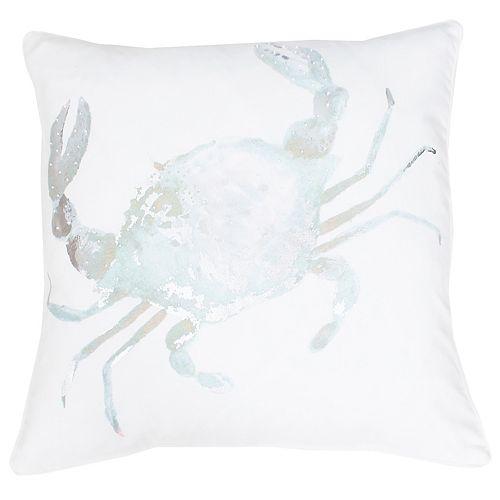 Thro by Marlo Lorenz Corey Crab Throw Pillow