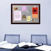 Amanti Art Rubino Scoop Framed Magnetic Board Wall Decor