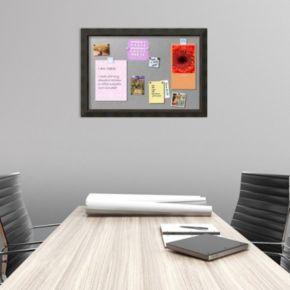 Amanti Art Signore Bronze Finish Framed Magnetic Board Wall Decor