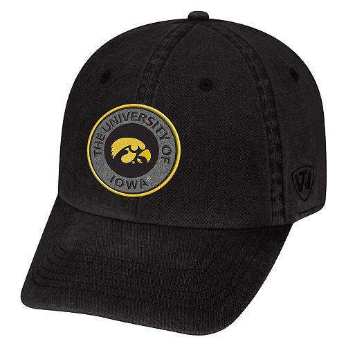 Adult Iowa Hawkeyes Fun Park Vintage Adjustable Cap