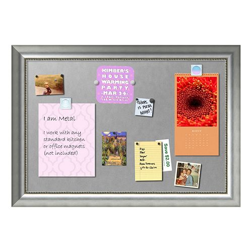 Amanti Art Vegas Framed Magnetic Board Wall Decor