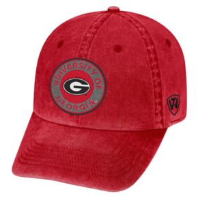 Adult Georgia Bulldogs Fun Park Vintage Adjustable Cap