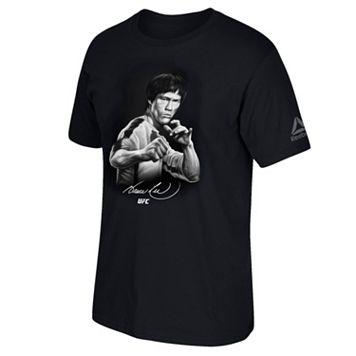 Men's Reebok UFC Bruce Lee Drawing Tee