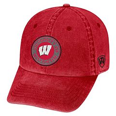 Adult Wisconsin Badgers Fun Park Vintage Adjustable Cap