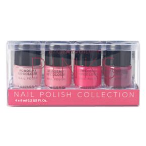 Academy of Colour Pinks 4-pc. Nail Polish Set
