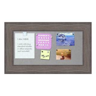 Amanti Art Medium Barnwood Finish Magnetic Bulletin Wall Decor
